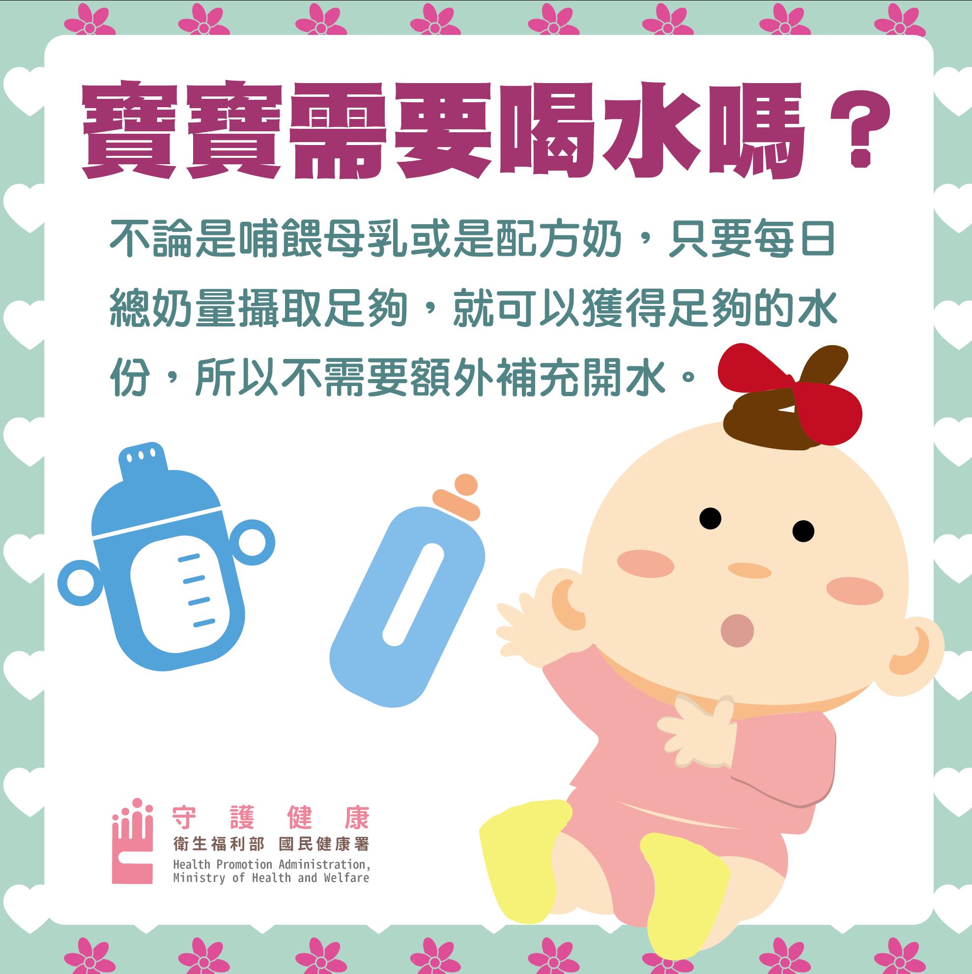 寶寶需要喝水嗎